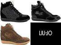 Liu Jo Girl Sneakers Calzature Scarpe Bambina con Tacco Interno dal 29 al 34