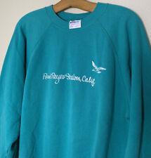 Vintage Point Reyes Station California Crewneck Sweatshirt 80s Large