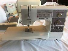 Bernina 1130 Electronic Sewing Machine, Case & Accessories, 12 presser feet, vtg