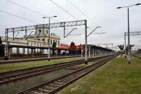 PHOTO  ZBASZYN RAILWAY STATION VIEW  12  POLAND  THE STATION AND PLATFORMS
