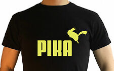 Pokemon T Shirt Pikachu Nintendo Switch Pika Puma Tee funny gamer NEW Unisex