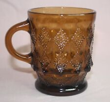Fire-King Cup Kimberly - Brown Glass - Anchor Hocking Oven-Proof U.S.A. # 319