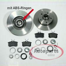 Vw Passat 35i VR6 Bremsscheiben Bremsen mit Abs Ringe Beläge Radlager für hinten