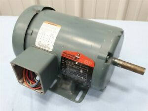 Reliance P56H1301 Electric Motor .75hp 1725rpm 208-230/460V*missing cover plate*