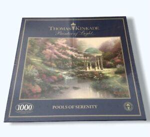 Thomas Kinkade 1000 Piece Jigsaw Puzzle Pools of Serenity Gibsons New Sealed