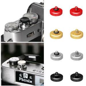 2x 11mm Concave Shutter Release Button for Fujifilm X100V X-T4 XT4 XT30 XT3 XT2