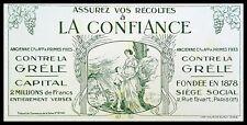 Buvard Publicitaire, LA CONFIANCE  - Assurance - Contre la grêle