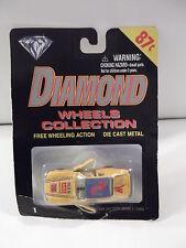 "DIAMOND WHEELS COLLECTION  #76 ""MAN AND MACHINE"" DIE CAST  NIP"