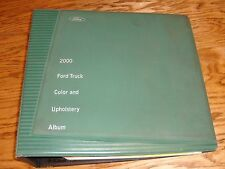 2000 Ford Truck Color & Upholstery Selections Dealer Showroom Album 00
