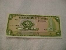 NICARAGUA-(-1972-1989-)-CORDOBAS-UNCIRCULATED-Lot of 6 BanknoteS