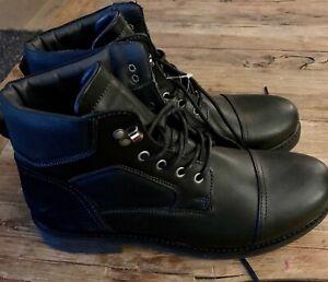 Tommy Hilfiger Herren Boots Gr. 45 NEU schwarz