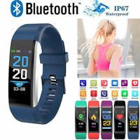 Sport Fitness Smart Watch Activity Tracker Women Men Kids Android iOS Heart Rate