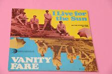 """SOLO COPERTINA SENZA DISCO 7"""" VANITY FARE 7"""" I LIFE FOR THE SUN ORIG 1969 EX++"""