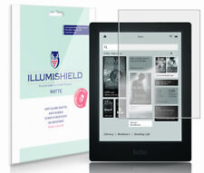 "iLLumiShield Anti-Glare Matte Screen Protector 3x for Kobo Aura HD e-Reader 6.8"""