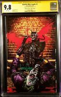BATMAN WHO LAUGHS #2 CGC SS 9.8 MICO SUAYAN VIRGIN GRIM KNIGHT JOKER HARLEY IVY