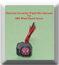 ABS Wheel Speed Sensor Connector Rear Left ALS2085 Fits:Caliber Compass Patriot