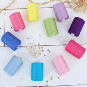 100% COTTON QUILTING SEWING THREAD 1000M BY THE SPOOL -  50 COLORS AVAILABLE