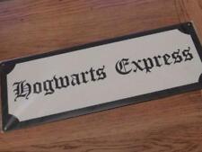 GOOD QUALITY HARRY** POTTER METAL SIGN WALL PLAQUE HOGWARTS EXPRESS 40X15CM FAB!