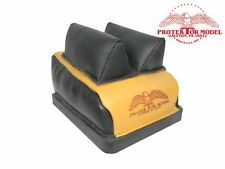 PROTEKTOR MODEL - NEW DR BAG LEATHER MID EAR RIFLE REST BENCH SHOOTING
