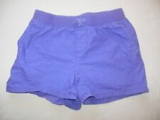 THE CHILDRENS PLACE Girls SHORTS Purple size 10 elastic waistband