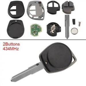 433MHz Keyless Entry Remote Key Fob Replace Fit for SUZUKI SWIFT SX4 alto JIMNY