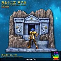 Jacksdo Saint Seiya Myth Cloth Diorama Gemini Gémeaux Temple Limité 100