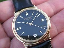 Raymond Weil Tradition Swiss Made Men's 18K Gold Plated Dress Date Watch! 5531 ✅