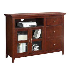 Convenience Concepts Highlander TV Stand, Espresso - 8063080ES