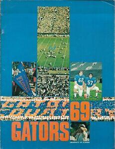 1969 FLORIDA GATOR FOOTBALL(GATOR BOWL CHAMPS, AP #14) media guide, EXCELLENT