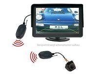 "Unterbau Rückfahrkamera CM368 & 4.3"" Monitor Funkübertrager passt für VW"