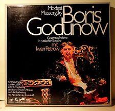 4 LP BOX SET- Modest Mussorgsky- Boris Godunow-IWAN PETROV,..