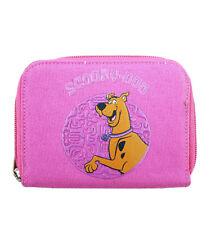 Warner Bros Scooby Doo Girls Kids Pink Zip Wallet/Card & Photo Holder