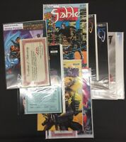 Lot Of Nine Signed/Autographed Comics Variety Of Publishers Lot 168
