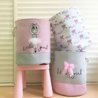 Handbag Kid Baby Toy Cotton Laundry Basket Washing Clothes Print Storage Bag