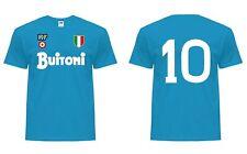 T-Shirt NAPOLI Calcio Celebrativa Scudetto Maradona Careca Alemao Coppa Italia