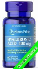 PURITANS PRIDE HYALURONIC ACID 100 MG 60 CAPSULES (688)