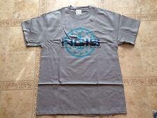 NCIS Anchor Logo Grey Men's LARGE T-Shirt Shirt NEW CBS TV Show