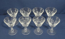 "Waterford Crystal Glass Kenmare Cut 8 Liquor Cocktail Glasses 4-3/4"" x 3-3/8"""