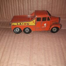 MATCHBOX KING SIZE SERIES NO. 8 SCAMMELL 6X6 TRACTOR FOR RESTORATION BY LESNEY