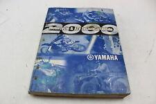 Yamaha Motorcycle Atv Technical Update Oem Service Manual Book Mat