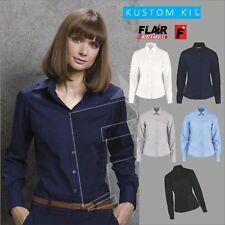 Kustom Kit Ladies' L/S Business Shirt