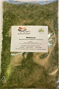 Weißwurst Gewürzmischung 100gr Wurstherstellung -ohne Pökelsalz, o. Zusatzstoffe