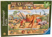 Ravensburger Dinosaurs Xxl100 Puzzle - Brand New 00004000