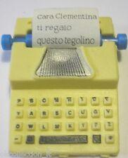 MULINO BIANCO GOMMINA MACCHINA DA SCRIVERE _eraser gomma rubber radiergummi 186