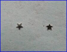 Pair Of Sterling Silver 925 Tiny Star ( 2mm ) Nose Studs ! New !