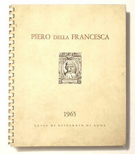 ANTICO CALENDARIO VINTAGE - PIERO DELLA FRANCESCA - 1965