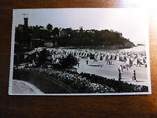 Lot67f DINARD Beach FRANCE  Beach Tents / Huts Postcard c1950s?