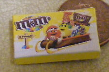 1:12 Scale Empty M&M's Selection Packet Dolls House Miniature Food Accessory