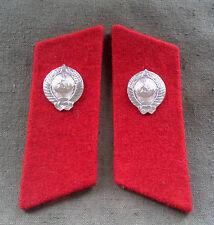 Kragenspiegel Uniform Miliz Polizei UDSSR Sowjet Armee