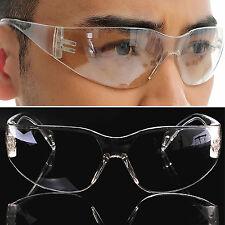 Nt Neu 1St Sicherheits Schutzbrille Augenschutz Klarsicht Kratzfest Laborbrille